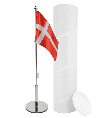 Bordflag som dåbsgaver