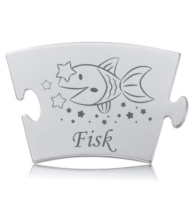 Stjernetegn - Fisk - Memozz Classic Mindebrik