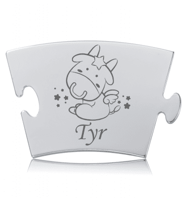 Stjernetegn - Tyr - Memozz Classic Mindebrik
