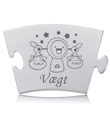 Stjernetegn - Vægt - Memozz Classic Mindebrik