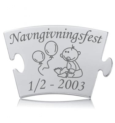 Navngivningsfest - Memozz Classic Mindebrik