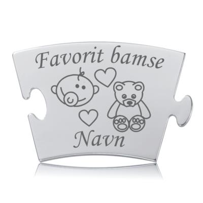 Favorit bamse - Memozz Classic Mindebrik