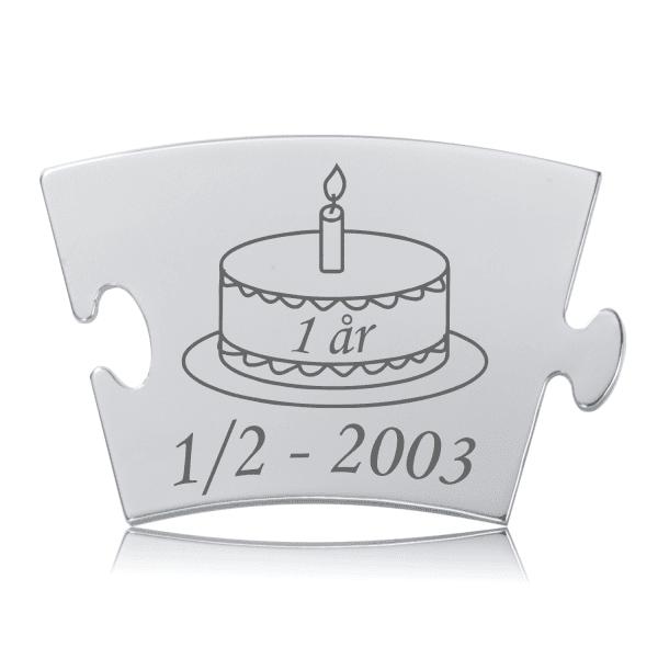 Fødselsdag - Model Kage - Memozz Classic Mindebrik