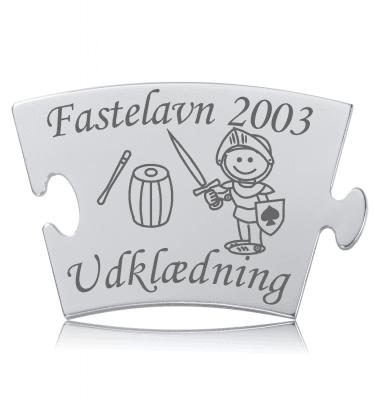 Fastelavn - Ridder - Memozz Classic Mindebrik