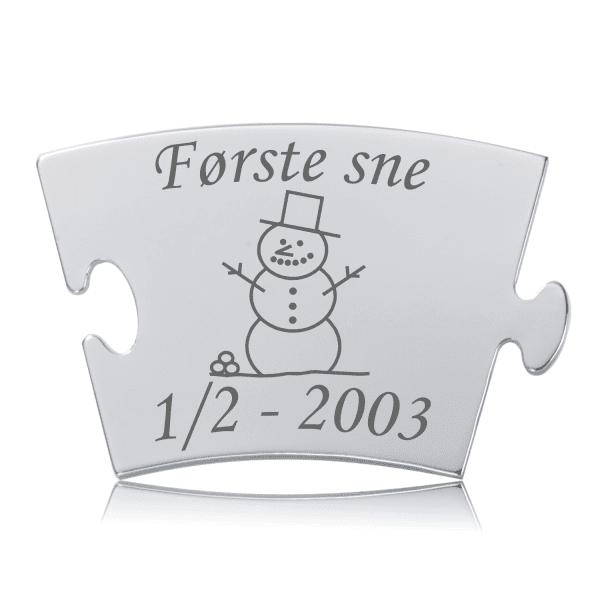 Første sne - Memozz Classic Mindebrik