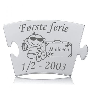 Første ferie - Memozz Classic Mindebrik