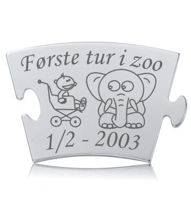 Første tur i zoo - Memozz Classic Mindebrik