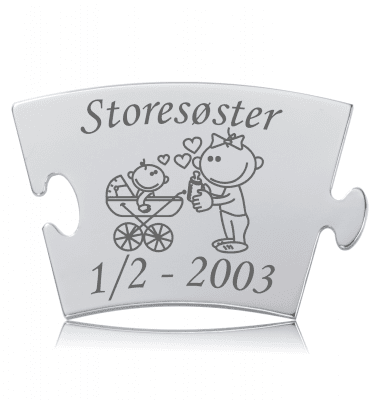 Storesøster - Memozz Classic Mindebrik