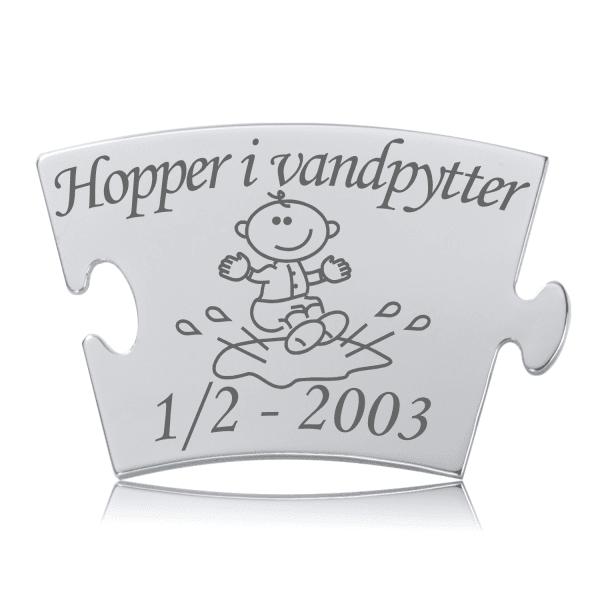 Hopper i vandpytter - Memozz Classic Mindebrik