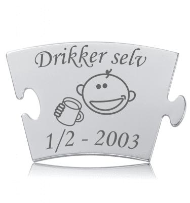 Drikker selv - Memozz Classic Mindebrik