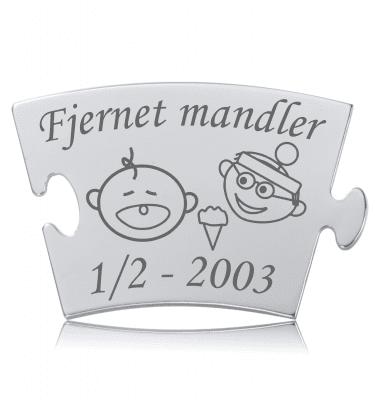 Fjernet mandler - Memozz Classic Mindebrik