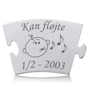 Kan fløjte - Memozz Classic Mindebrik