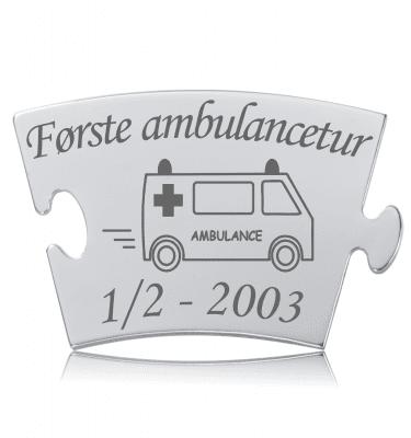 Første ambulancetur - Memozz Classic Mindebrik