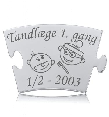 Tandlæge 1. gang - Memozz Classic Mindebrik