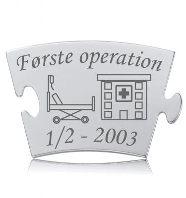 Første operation - Memozz Classic Mindebrik