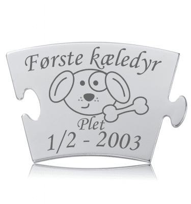 Første kæledyr - Hund - Memozz Classic Mindebrik