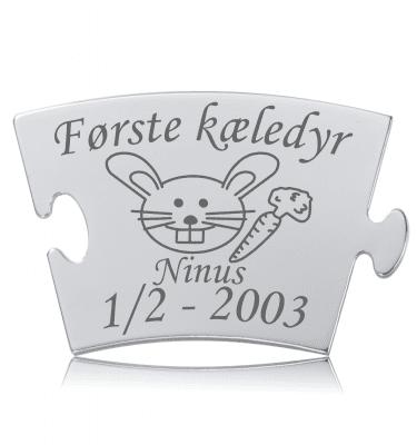 Første kæledyr - Kanin - Memozz Classic Mindebrik