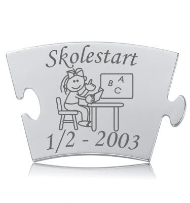 Skolestart - Pige - Memozz Classic Mindebrik