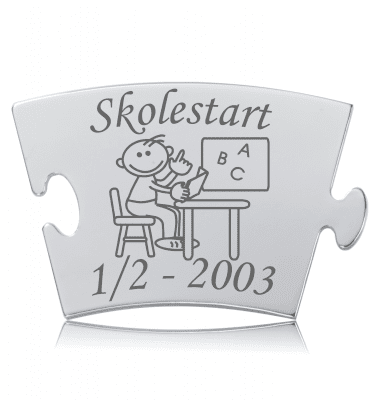 Skolestart - Dreng - Memozz Classic Mindebrik