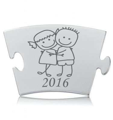 Årsbrikken 2016 - Memozz Classic Mindebrik