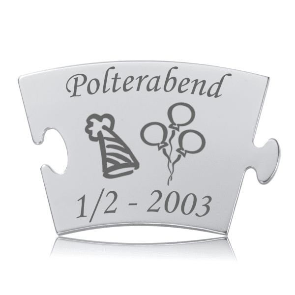 Polterabend - Model Balloner - Memozz Classic Mindebrik