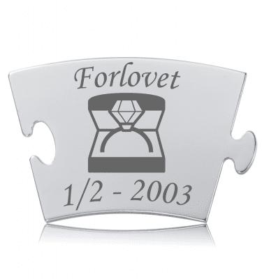 Forlovet - Model Diamant - Memozz Classic Mindebrik