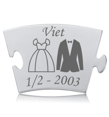 Viet - Model Kjole & Hvidt - Memozz Classic Mindebrik