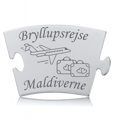 Bryllupsrejse - Model Fly - Memozz Classic Mindebrik