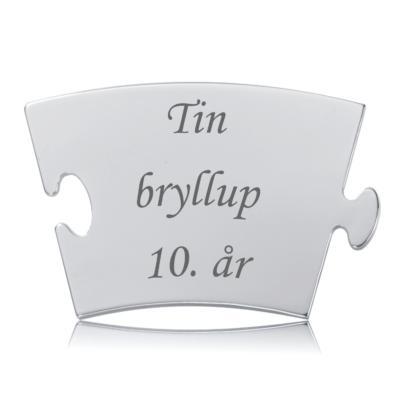 Tinbryllup - Memozz Classic Mindebrik