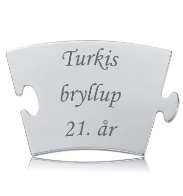 Turkisbryllup - Memozz Classic Mindebrik