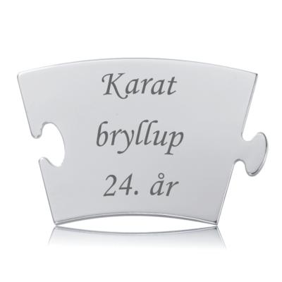 Karatbryllup - Memozz Classic Mindebrik