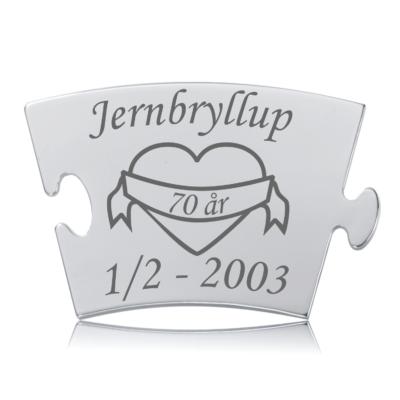 Jernbryllup - Memozz Classic Mindebrik