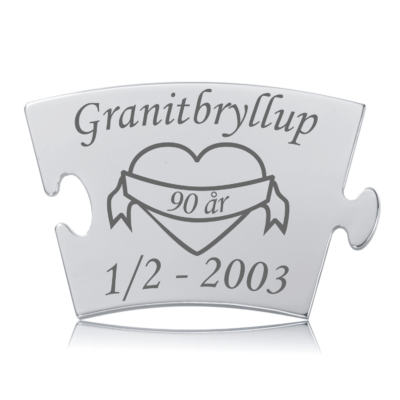 Granitbryllup - Memozz Classic Mindebrik