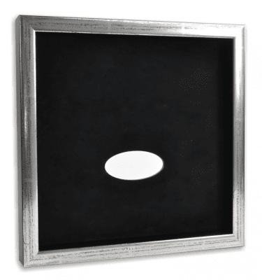 Sølv/sort ramme - Memozz