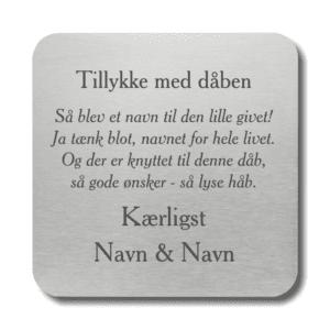Citatplade - Gode ønsker - Memozz.dk