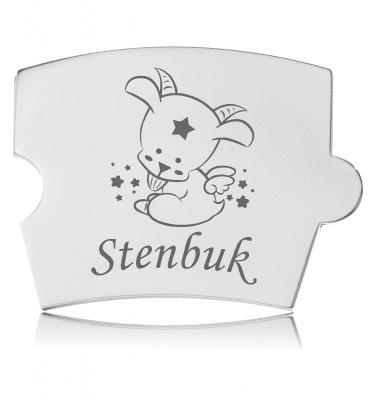 Memozz Spin Mindebrik - Stjernetegn - Stenbuk
