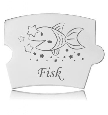 Memozz Spin Mindebrik - Stjernetegn - Fisk