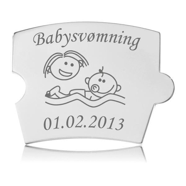 Memozz Spin Mindebrik - Babysvømning