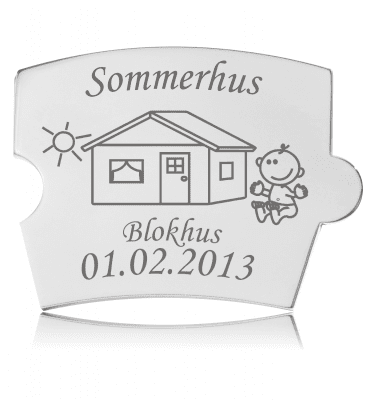 Memozz Spin Mindebrik - Sommerhus
