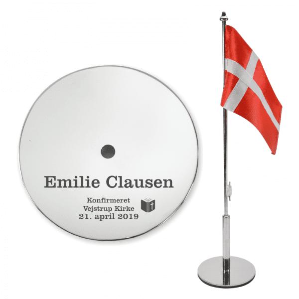 Bordflag til konfirmation