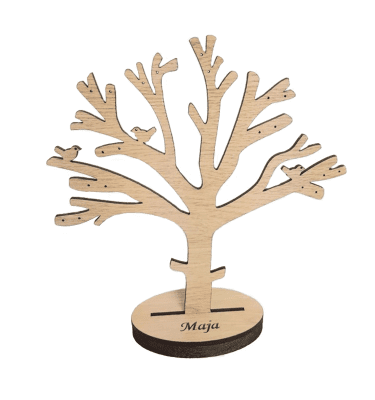 Smykketræ i egetræsfinen