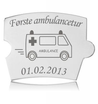 Spin brik Første ambulancetur