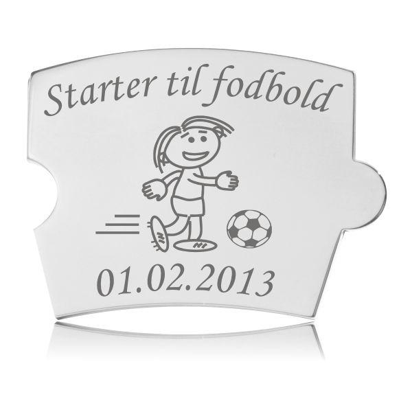 Spin brik - Starter til fodbold (Pige)